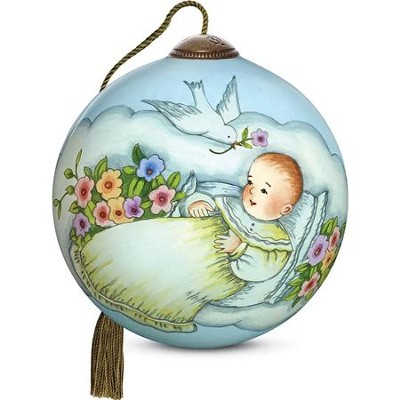 Blessing For Baby Ornament  -     By: Susan Winget