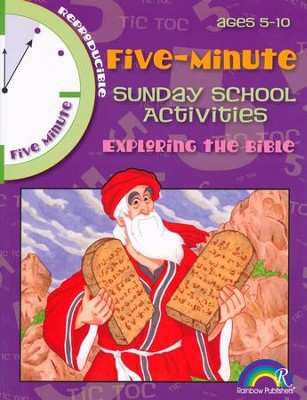 5-Minute Sunday School Activities for Ages 5-10: Exploring the Bible                 -     By: Mary Davis