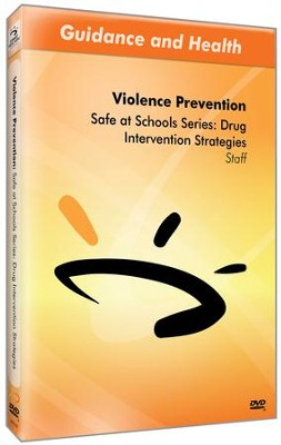 Safe at Schools Series: Drug Intervention Strategies DVD & Guide  -