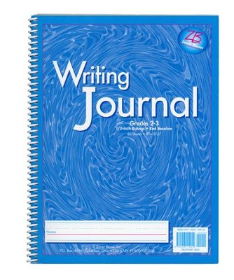 Zaner-Bloser My Writing Journal, Liquid Blue Grades 2-3  -