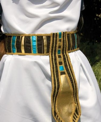 Egyptian Belt, Jeweled Cloth  -