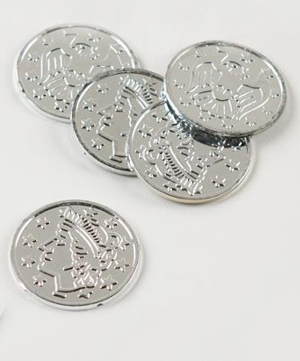 Silver Coins, package of 100  -