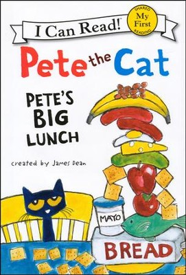 Pete the Cat: Pete's Big Lunch, Hardcover  -     By: James Dean     Illustrated By: James Dean