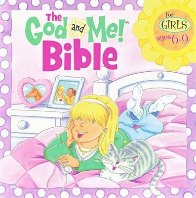 God and Me! Bible: For Girls 6-9   -
