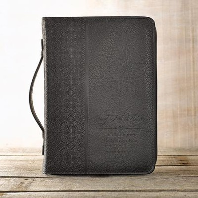 Guidance Proverbs 3:6 Bible Cover, Black, Medium  -
