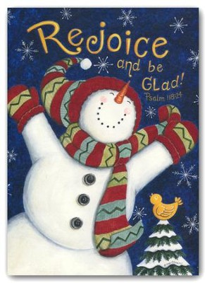 Rejoice And Be Glad (KJV), 20 Count Boxed Christmas Cards ...