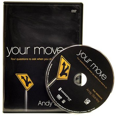 Your Move: Four Questions to Ask When You Don't Know What to Do DVD  -     By: Andy Stanley