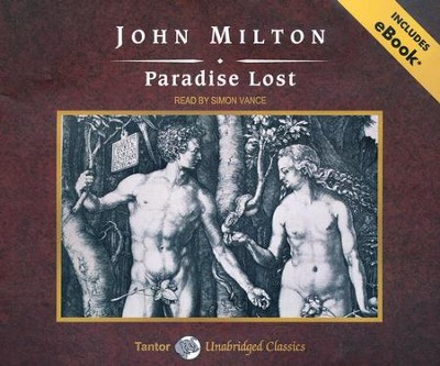 Paradise Lost, Unabridged Audio CD with eBook  -     By: John Milton