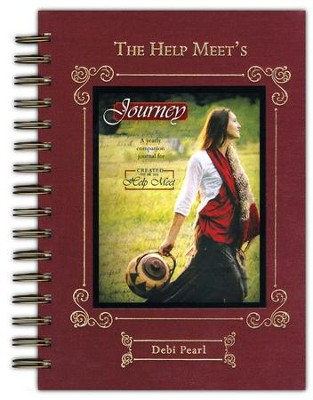 The Help Meet's Journey: A Yearly Companion Journal for Created to Be His Help Meet  -     By: Debi Pearl