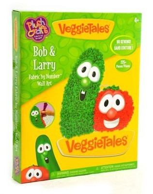 VeggieTales &#174 PlushCraft&#153 Bob & Larry Boy Wall Art  -