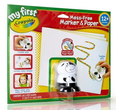 Crayola, My First Crayola, Mess Free Marker and Paper  -