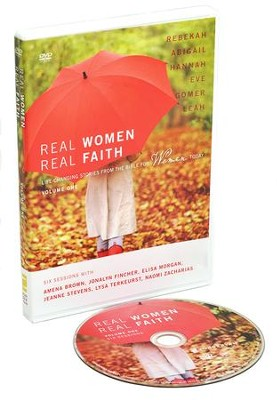 Real Women, Real Faith: Volume 1: Life-Changing Stories from the Bible for Women Today  -     By: Amena Brown, Jonalyn Fincher, Elisa Morgan