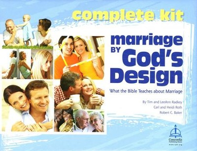 Marriage By God's Design: Kit  -     By: Carl Roth, Heidi Roth, Tim Radkey