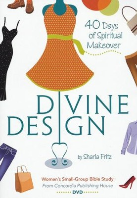Divine Design: 40 Days of Spiritual Makeover, DVD   -     By: Sharla Fritz