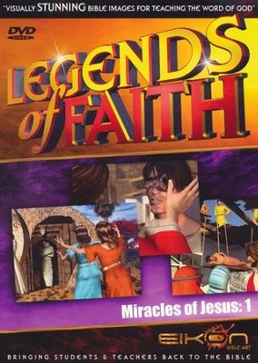 Legends of the Faith: The Miracles of Jesus   -     By: Eikon Bible Art