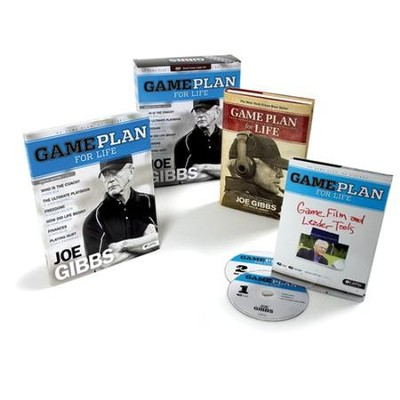 Game Plan for Life DVD Leader Kit  -     By: Joe Gibbs