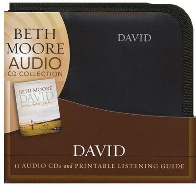 David: Seeking a Heart Like His Audio CDs  -     By: Beth Moore