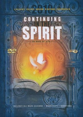 2010 Calvary Chapel Senior Pastors Conference: Continuing in the Spirit DVD with MP3  -     By: Chuck Smith