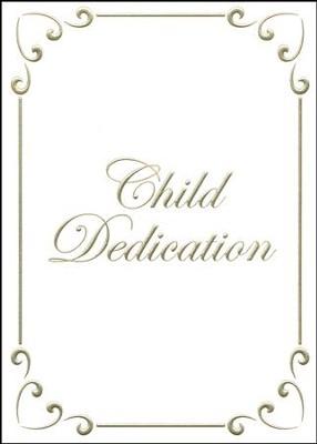 child dedication certificate gold foil embossing premium stock