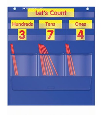 Counting Caddie and Place Value Pocket Chart  -