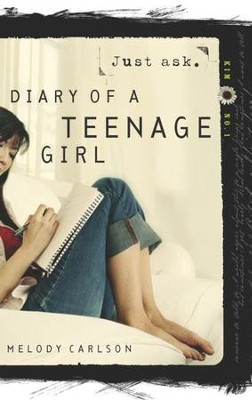 Just Ask - eBook Diary of a Teenage Girl Series Kim #1  -     By: Melody Carlson