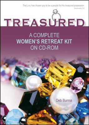 Treasured: A Complete Women's Retreat Kit on CD-ROM  -     By: Deb Burma