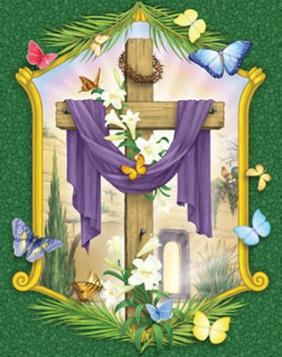 Lenten Cross Countdown Calendar  -