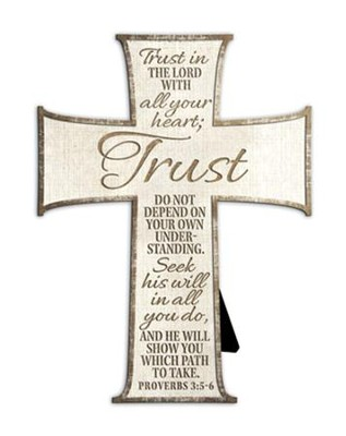 Trust In the Lord With All Your Heart Cross  -