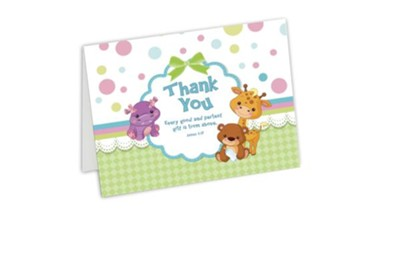 Thank You Cards, Baby, Box of 10   -