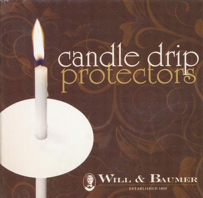 Candlelight Service Drip Protectors, 50   -
