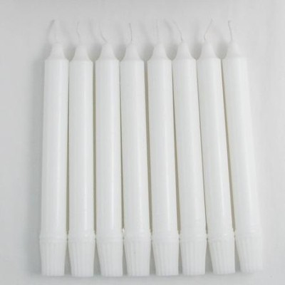 Altar Candles, 7/8 x 8, Self-Fitting, Box of 36     -