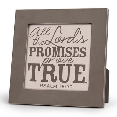 All/Lord's Promises Prove True Plaque  -