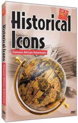 Historical Icons: Famous African Americans DVD  -