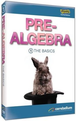 Pre-Algebra Module 1: The Basics DVD & CDROM  -