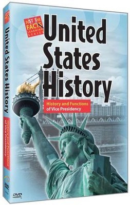 U.S. History: History and Functions of Vice Presidency DVD  -