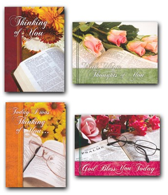Thoughts from the Word, Box of 12 Assorted Thinking of You Cards  -