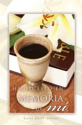 Boletines Comunión En Memoria, 100  (Communion In Remembrance Bulletins, 100)  -