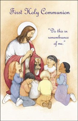 First Communion, Jesus with Children, Bulletins, 100  -