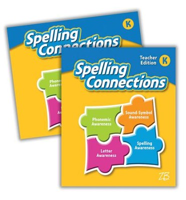 Zaner-Bloser Spelling Connections Grade K: Student & Teacher Editions (Homeschool Bundle -- 2016 Edition)  -