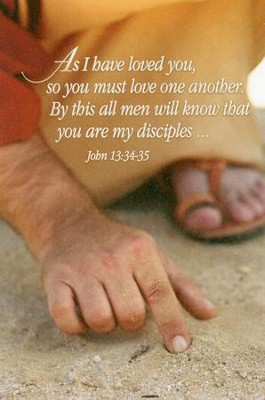 As I Have Loved You (John 13:34-35) Bulletins, 100  -