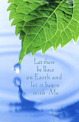 Let There Be Peace on Earth, Leaf in Water, Bulletins, 100  -