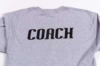 MEGA Sports Camp: Coach T-Shirt, Adult XX-Large  (50-52)  -