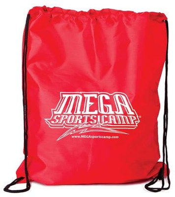 Mega Sports Camp Backpack, red   -