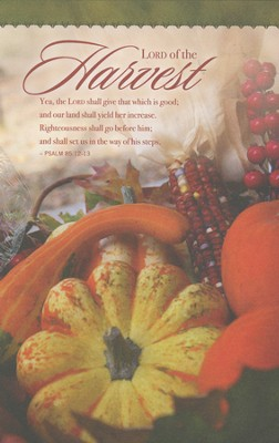 Lord of the Harvest (Psalm 85:12-13) Bulletins, 100  -
