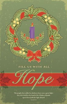 Advent Hope, Bulletins, 100  -