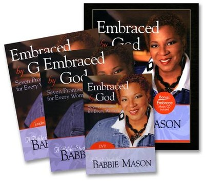 Embraced by God Bible Study Leader Kit: Seven Promises for Every Woman  -     By: Babbie Mason