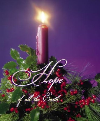 Hope of All the Earth Large Advent Bulletins, 100  -