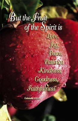 The Fruit Of The Spirit (Galatians 5:22-23) Bulletins, 100  -