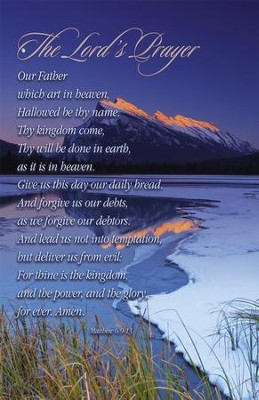 Lord's Prayer, Winter (Matthew 6:9-13) Bulletins, 100  -