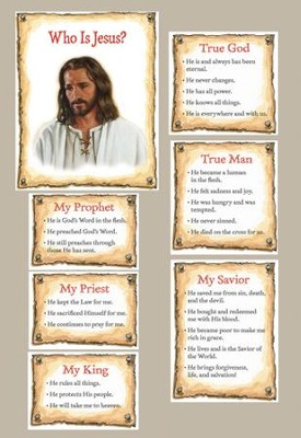 Who is Jesus? Bulletin Board    -